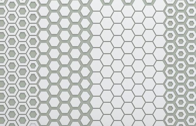 Grijze hexagon grafisch voor achtergrond