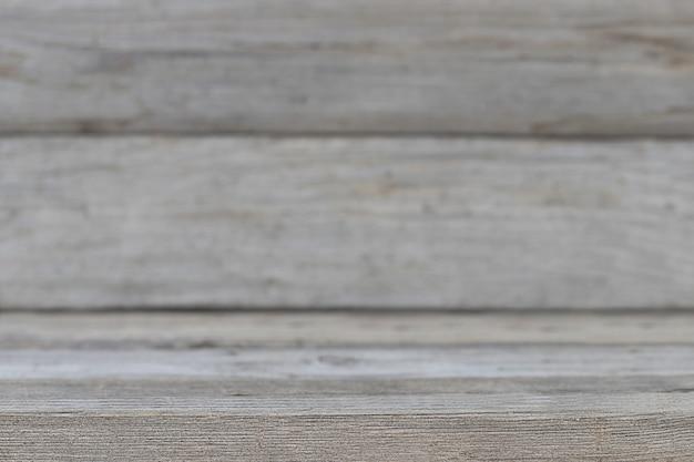 Grijze houten gestructureerde oude achtergrond