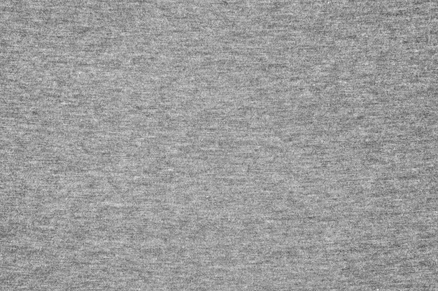 Grijze jersey stof textuur achtergrond.