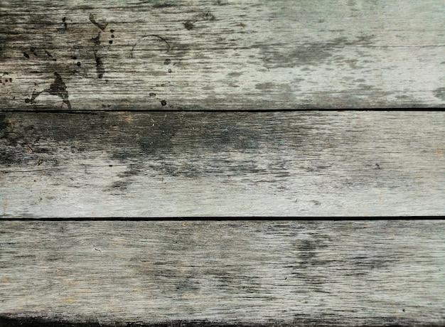 Grijze muur van de oude houten achtergrond van de raadstextuur