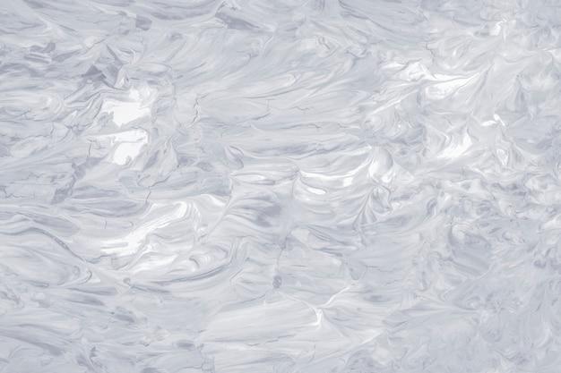 Grijze olieverf penseelstreek getextureerde achtergrond
