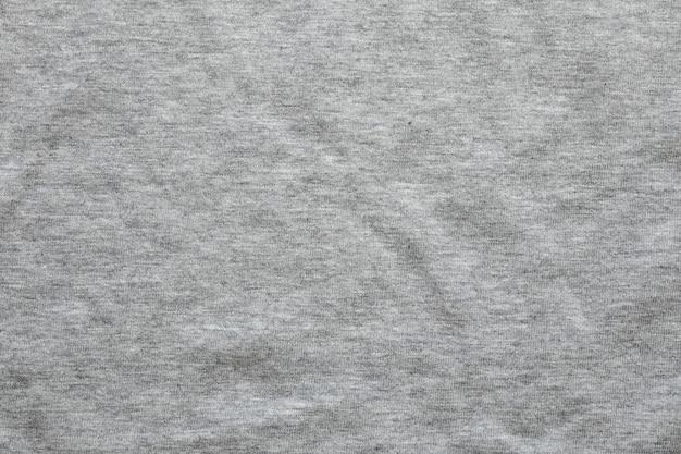 Grijze shirt stof textuur achtergrond