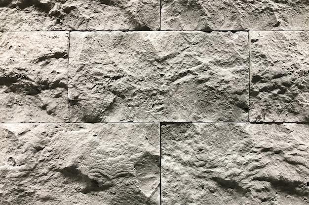 Grijze steenmuur met een mooie patroontextuur