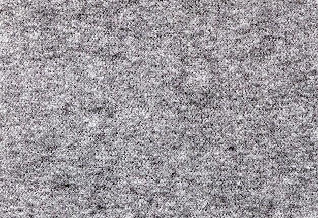 Grijze stoffentextuur met villi