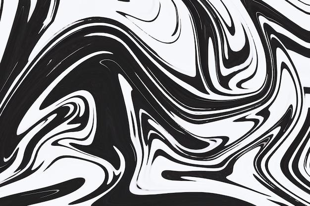 Grijze vloeibare kunst marmering verf getextureerde achtergrond