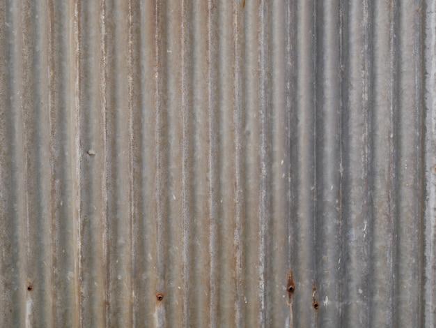 Grijze zink dak textuur achtergrond, metalen muur achtergrond