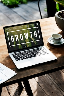 Groei ontwikkeling groei verbetering succes