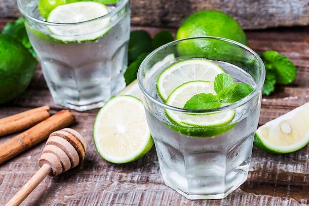Groen citroensap