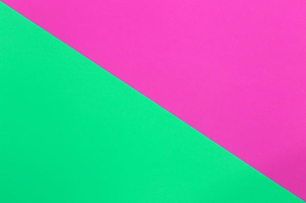 Groen en roze van kartonpapier.