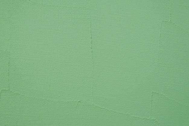 Groen geschilderde muur