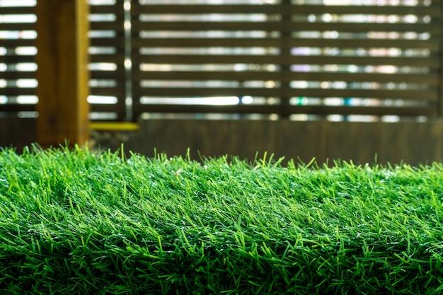 Groen gras. vers lente groen gras. - afbeelding