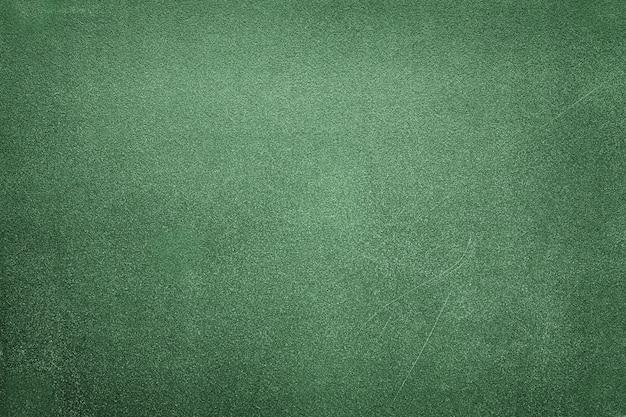 Groen houten bord met wit krijt.