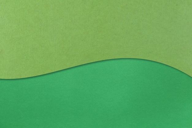 Groen kunstpapier met lagen