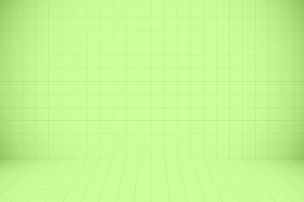 Groen mozaïekpatroon en textuurachtergrond voor ontwerpkunstwerk.