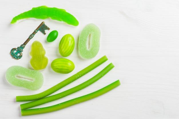 Groen thema babydouche