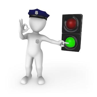 Groen verkeerslicht - ga!