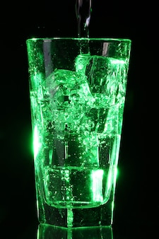 Groen zuur cocktail