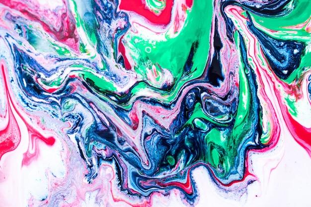 Groenachtig blauwe marmeren textuurachtergrond