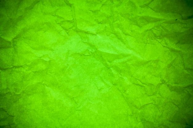 Groenboek verfrommeld textuur achtergrond.