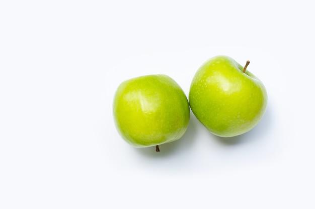 Groene appels.