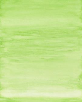 Groene aquarel achtergrond, aquarel textuur