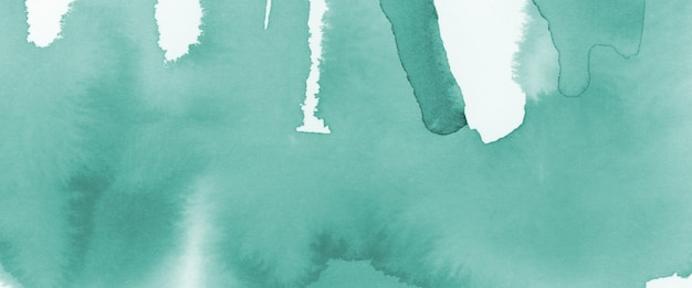 Groene aquarel vlek