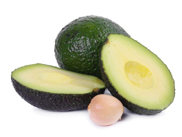 Groene avocado's