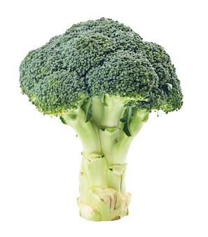 Groene broccoli geïsoleerd op wit