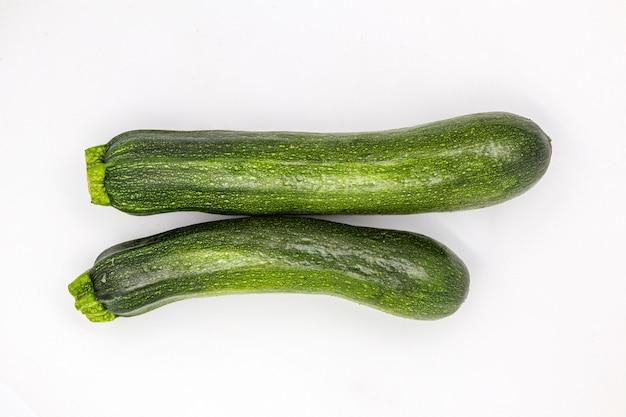 Groene courgettes