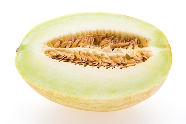 Groene dieet half plak plantaardig