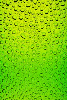 Groene fles bier textuur