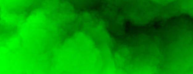 Groene gradiënt hemelachtergrond premium foto