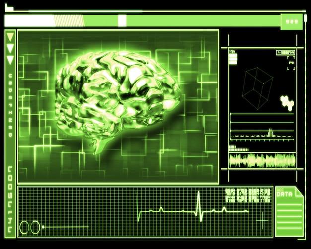 Groene hersenen interface-technologie