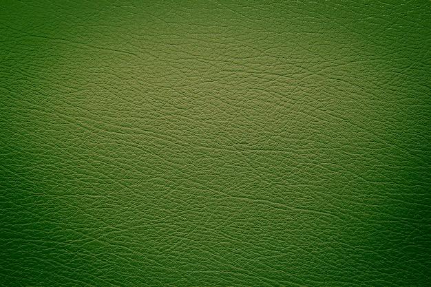 Groene lederen textuur achtergrond