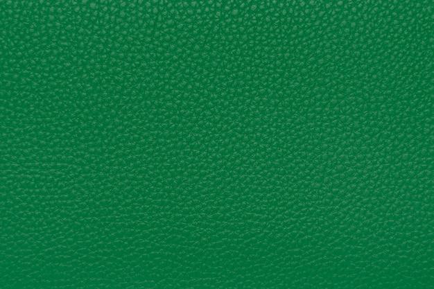 Groene leertextuur, achtergrond, behang