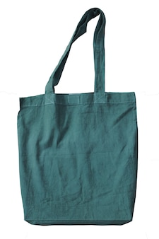 Groene lege katoenen draagtassen herbruikbare katoenen herbruikbare draagtassen