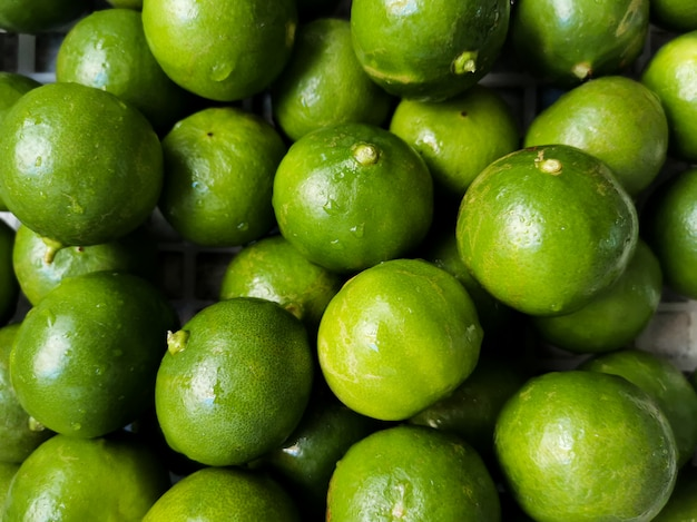 Groene limoenen groep
