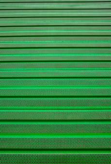 Groene metalen grill achtergrond ijzeren coating