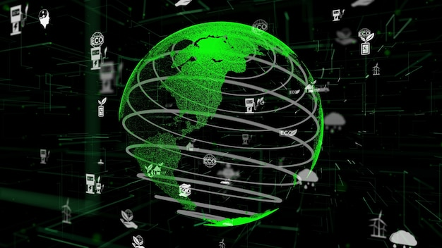 Groene milieuvriendelijke technologiesamenvatting