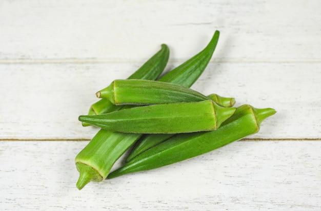 Groene okra