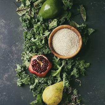 Groene salade mix