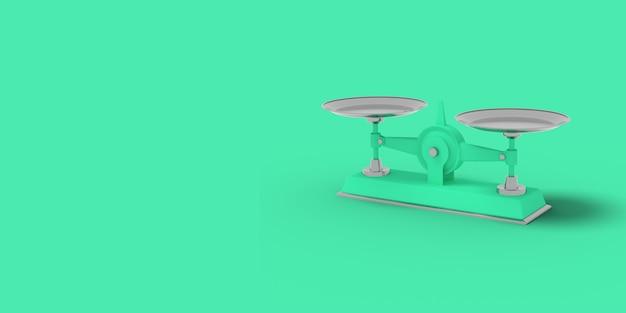 Groene schalen op groen