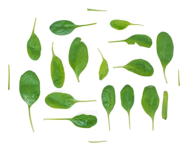 Groene spinazie