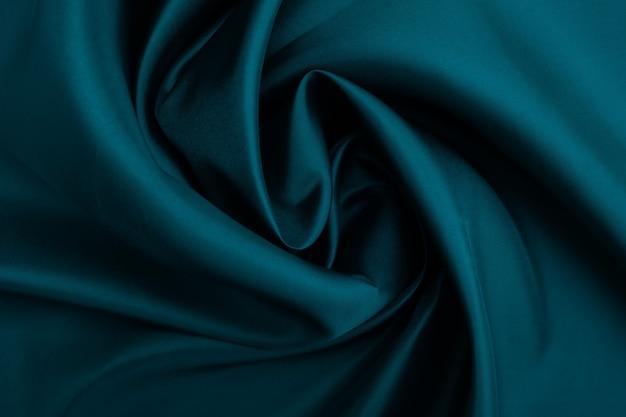 Groene stof textuur achtergrond, abstract, close-up textuur van doek