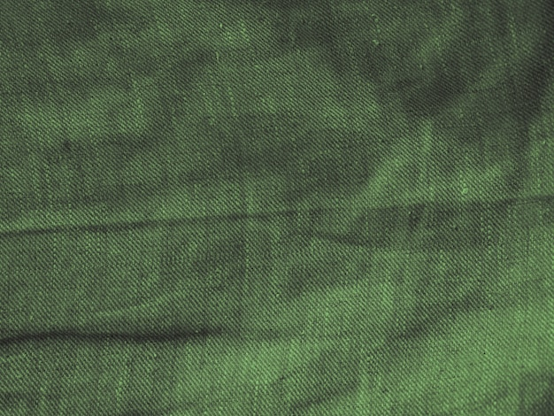 Groene stoffen doek textuur
