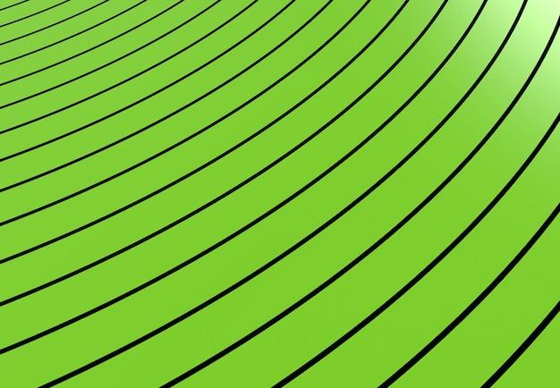 Groene strepen abstracte achtergrond lijnen in perspectief