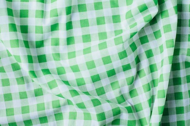 Groene tafelkleed achtergrond