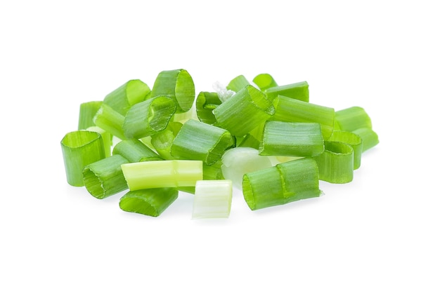 Groene ui geïsoleerd op wit