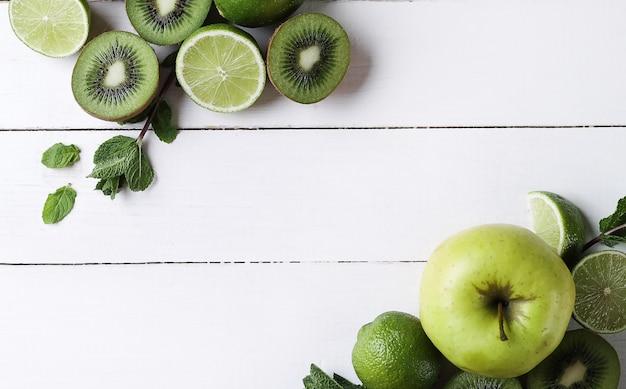 Groene vruchten