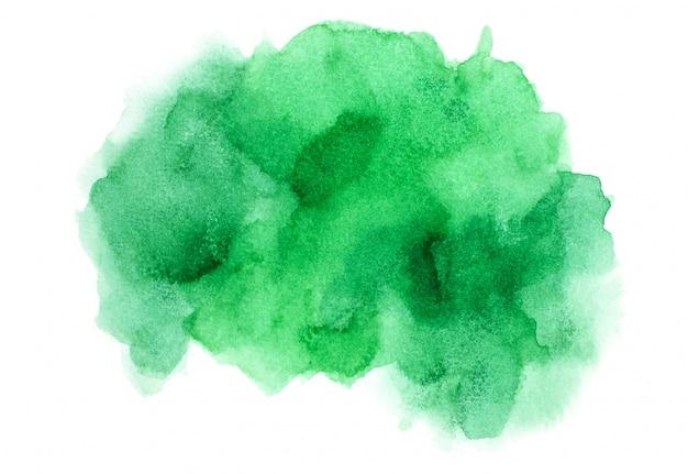 Groene watercolor.image